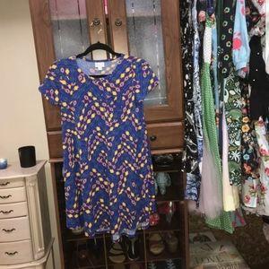 kids lularoe dress size 12.